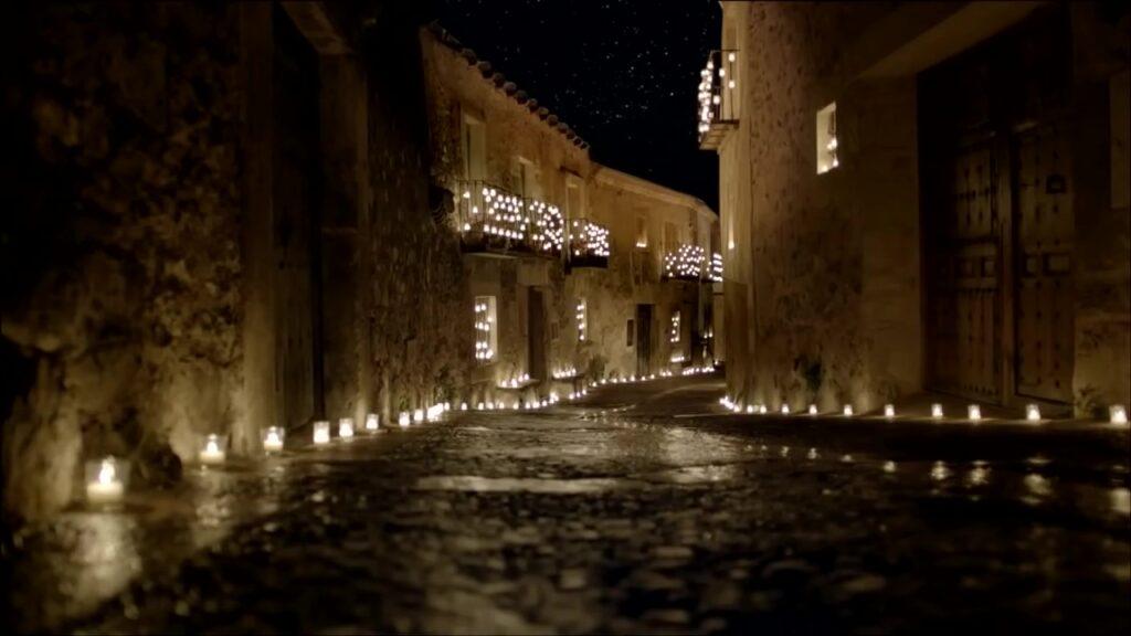 Fiesta de las velas Pedraza