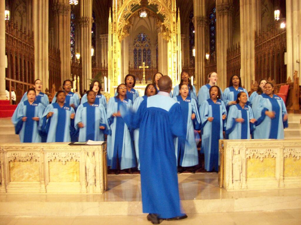 misa góspel en el Harlem