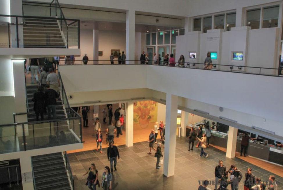 Museo Van Gogh, uno de los lugares que visitar en Ámsterdam