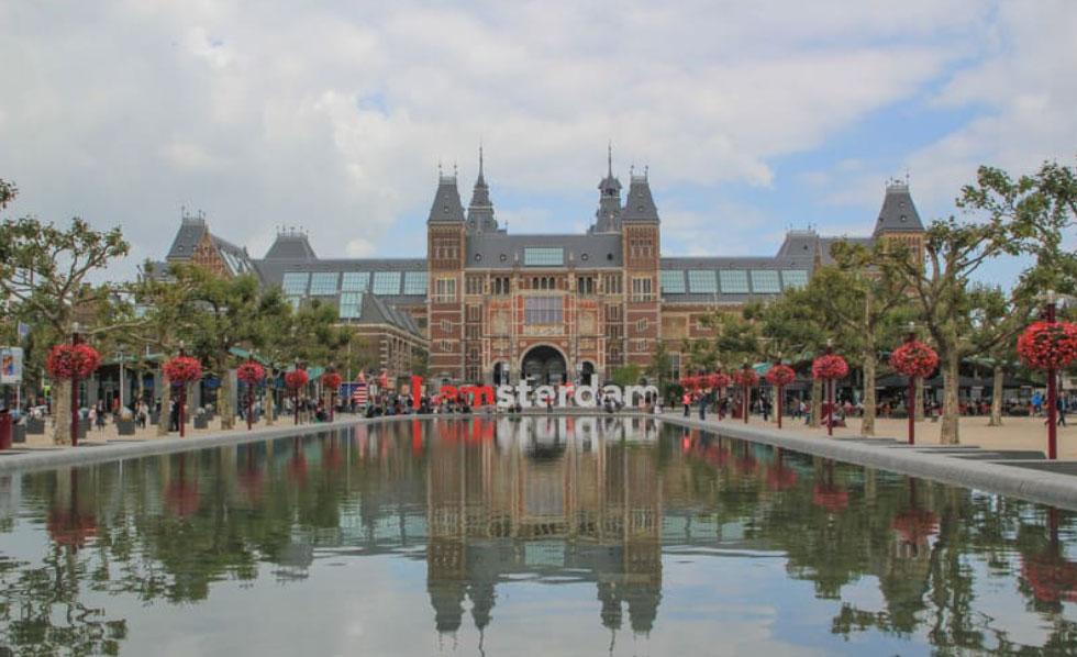 Rijksmuseum uno de los lugares que ver en Ansterdam