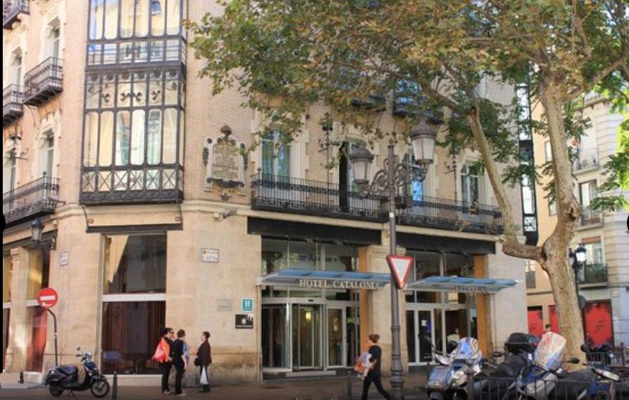 hotel Catalonia donde dormir en Zaragoza