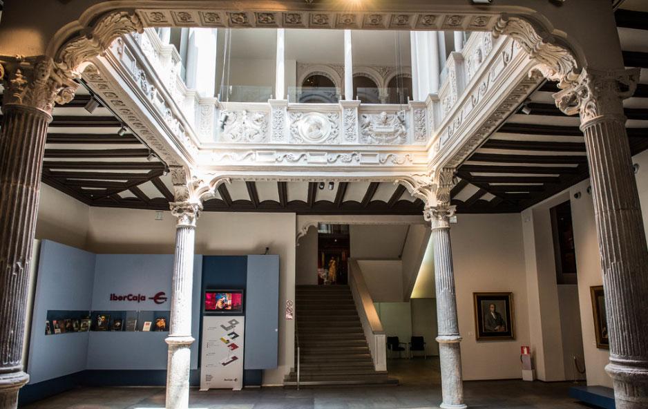 museo goya vestibulo