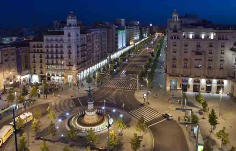 Paseo Independencia, la avenida principal de la zona centro
