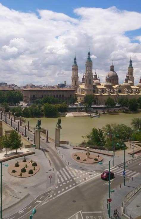 Vistas desde el Hotel Zaragoza Ibis